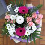 Bouquet dans les tons pastels