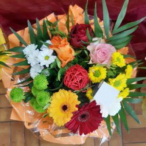Bouquet varié coloré